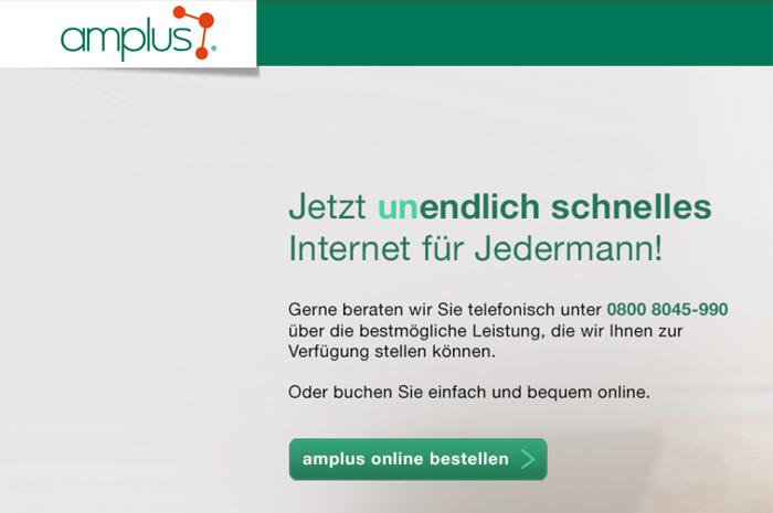 amplus.ag HighTech und Highspeed Das ist Internet von amplus.ag