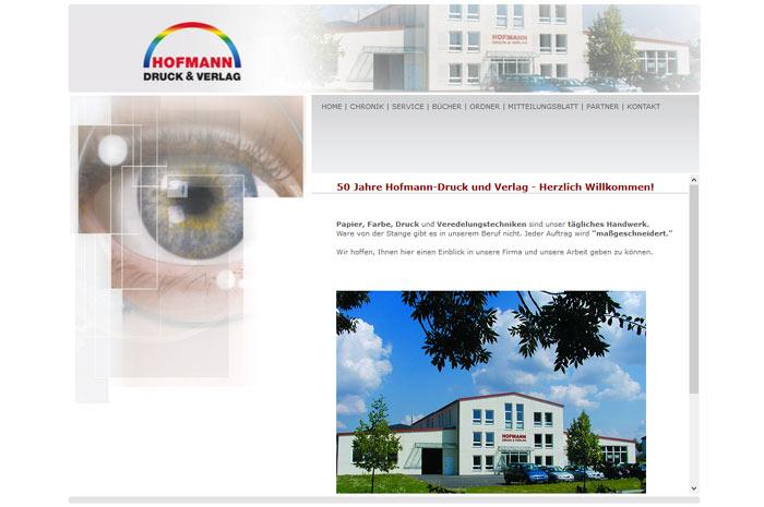 beeindrucken.com Hofmann Druck und Verlag