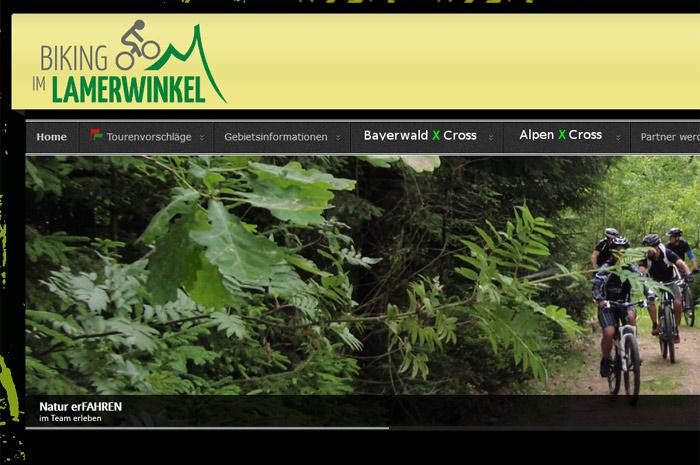 bike-lamerwinkel.de mit'm Radl durch Bayern: bike-lamerwinkel.de