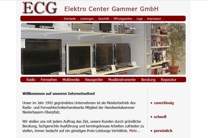 ecg-gammer.de ECG Elektro Center Gammer GmbH