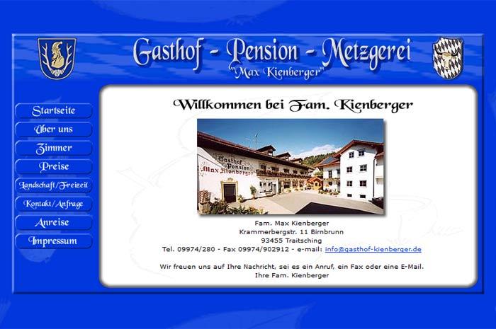 gasthof-kienberger.de Gasthof - Pension - Metzgerei Max Kienberger