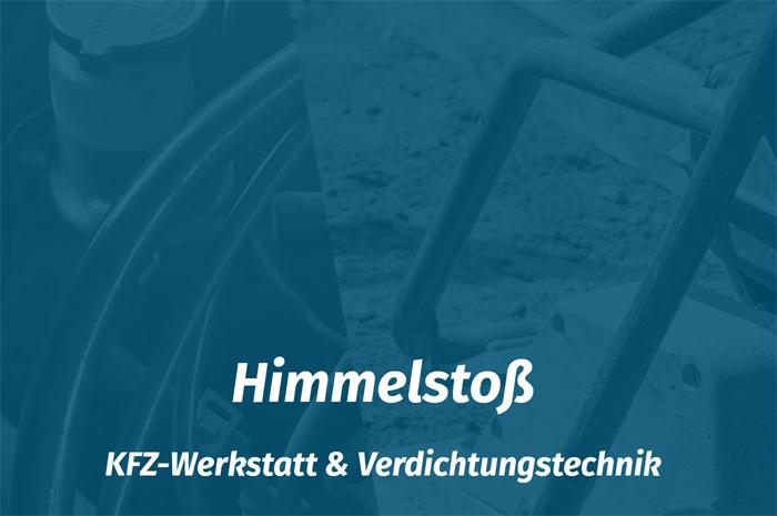 himmelstoss.bayern KFZ-Werkstatt & Verdichtungstechnik Andreas Himmelstoß