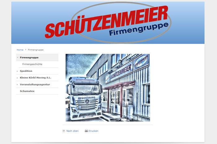 schuetzenmeier-spedition.de  Schützenmeier-Spedition GmbH