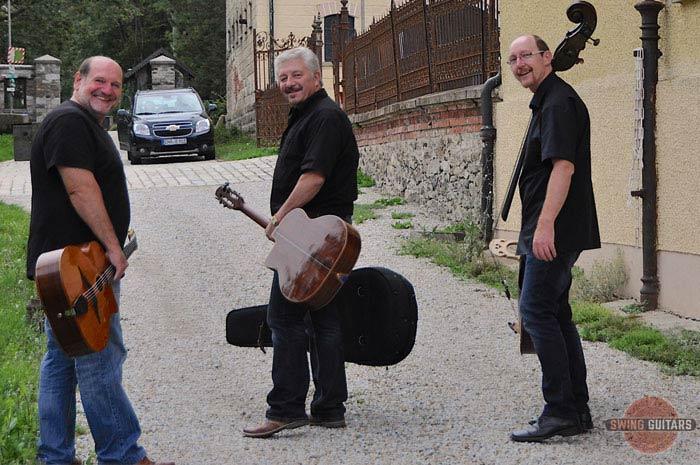 swing-guitars.com SWING GUITARS Roland Schrüfer - Ferry Baierl - Reinhold Grassl