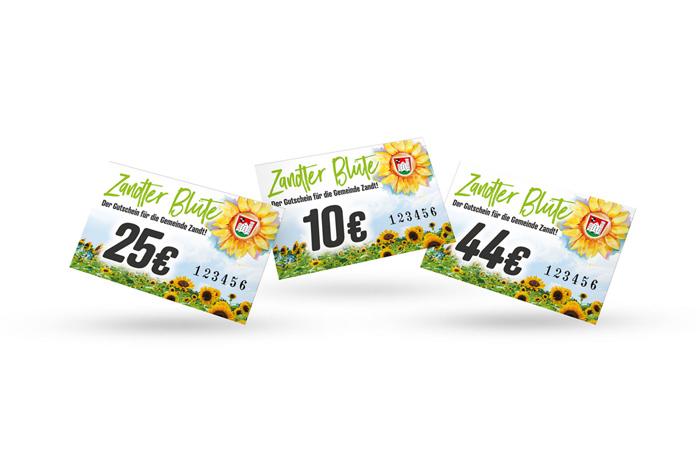 zandter-bluete.de Zandter Blüte - Der Gutschein für die Gemeinde Zandt