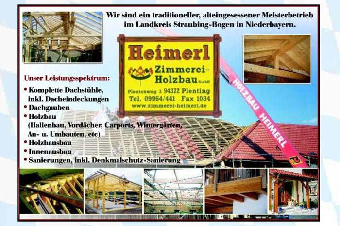 zimmerei-heimerl.de Heimerl Zimmerei- und Holzbau GmbH